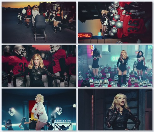 клип Madonna, Nicki Minaj, M.I.A. - Give Me All Your Luvin (2012)