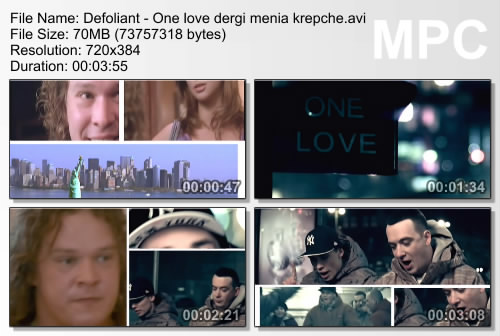 Defoliant - One love (Держи меня крепче)