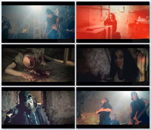 клип [AMATORY] (Аматори) - Сквозь Закрытые Веки (2011)