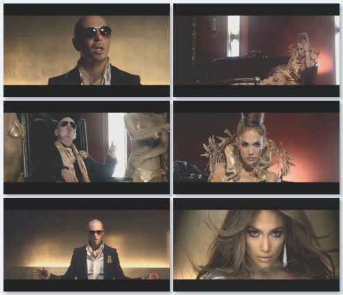 клип Jennifer Lopez и Pitbull - On The Floor (2011)