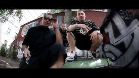 Новый клип Bugz, Зануда, Gypsy King, Гаддым, 9 Грамм - Нечего делить (2011)