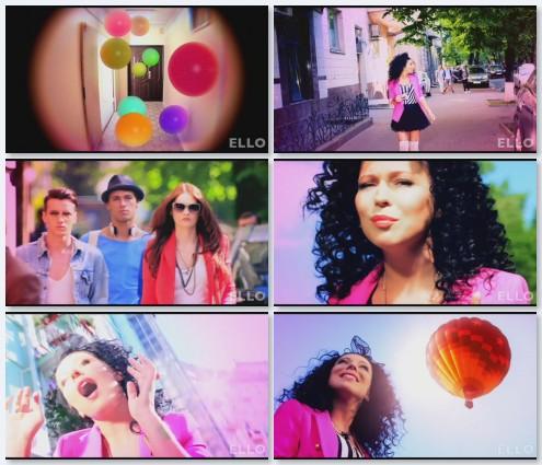 клип Елка - На воздушном шаре (2011)